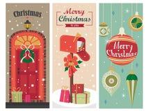 Τοπίο Χριστουγέννων Στοκ εικόνα με δικαίωμα ελεύθερης χρήσης