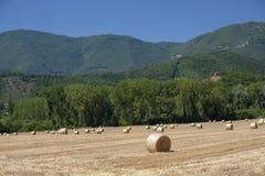 Τοπίο χώρας μεταξύ Rieti Λάτσιο και Terni Ουμβρία Στοκ Εικόνες