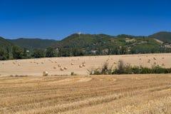 Τοπίο χώρας μεταξύ Rieti Λάτσιο και Terni Ουμβρία Στοκ φωτογραφία με δικαίωμα ελεύθερης χρήσης