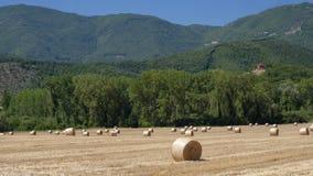Τοπίο χώρας μεταξύ Rieti Λάτσιο και Terni Ουμβρία Στοκ φωτογραφίες με δικαίωμα ελεύθερης χρήσης