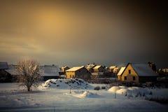 Τοπίο χώρας Στοκ Εικόνες
