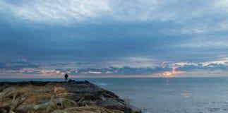 Τοπίο ψαρά Στοκ Φωτογραφίες