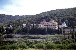 Τοπίο λόφων μοναστηριών Στοκ εικόνες με δικαίωμα ελεύθερης χρήσης
