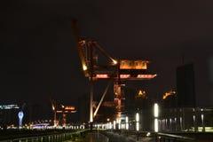 Τοπίο, όχθη ποταμού Huangpu της περιοχής XUHUI Στοκ φωτογραφία με δικαίωμα ελεύθερης χρήσης