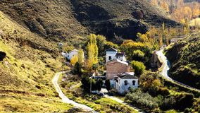 Τοπίο antequera-Ανδαλουσία-Ισπανία Στοκ Φωτογραφία