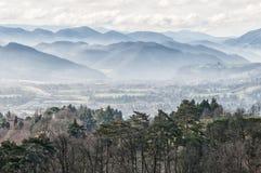 Τοπίο Apennines, Ιταλία Στοκ φωτογραφία με δικαίωμα ελεύθερης χρήσης