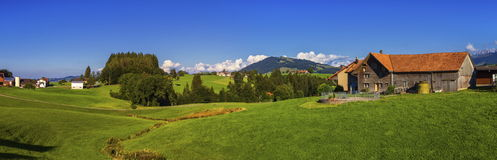 Τοπίο Appenzell, Ελβετία Στοκ φωτογραφία με δικαίωμα ελεύθερης χρήσης