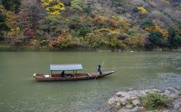 Τοπίο Arashiyama στο Κιότο, Ιαπωνία Στοκ Φωτογραφίες