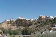 Τοπίο Arcos de του Λα Frontera, Ανδαλουσία Ισπανία Στοκ φωτογραφία με δικαίωμα ελεύθερης χρήσης