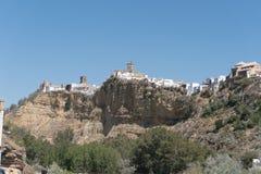 Τοπίο Arcos de του Λα Frontera, Ανδαλουσία Ισπανία Στοκ εικόνα με δικαίωμα ελεύθερης χρήσης