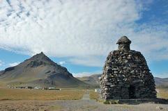Τοπίο Arnarstapi, δυτική Ισλανδία. Στοκ φωτογραφία με δικαίωμα ελεύθερης χρήσης