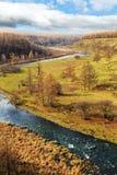 Τοπίο Arxan στην εσωτερική Μογγολία Στοκ φωτογραφίες με δικαίωμα ελεύθερης χρήσης