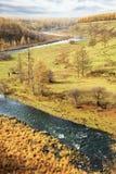 Τοπίο Arxan στην εσωτερική Μογγολία Στοκ φωτογραφία με δικαίωμα ελεύθερης χρήσης