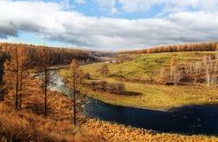 Τοπίο Arxan στην εσωτερική Μογγολία Στοκ Εικόνες