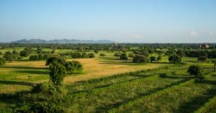 Τοπίο Bagan, το Μιανμάρ Στοκ εικόνες με δικαίωμα ελεύθερης χρήσης
