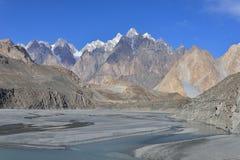 Τοπίο Beuatiful του βόρειου Πακιστάν Περιοχή Passu Στοκ εικόνες με δικαίωμα ελεύθερης χρήσης
