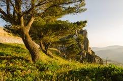 Τοπίο Caltabellotta, Σικελία, Ιταλία Στοκ φωτογραφία με δικαίωμα ελεύθερης χρήσης
