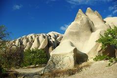 τοπίο cappadocia Στοκ Εικόνα