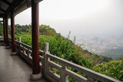 τοπίο guangzhou πόλεων Στοκ Φωτογραφία