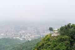τοπίο guangzhou πόλεων Στοκ εικόνα με δικαίωμα ελεύθερης χρήσης
