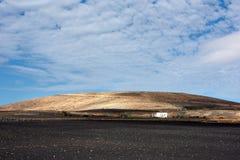 τοπίο Lanzarote ηφαιστειακό Στοκ Εικόνες
