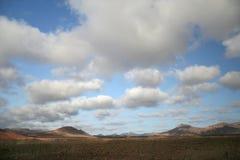 τοπίο Lanzarote νησιών Στοκ Εικόνα