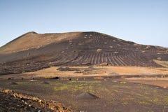 τοπίο Lanzarote Στοκ φωτογραφίες με δικαίωμα ελεύθερης χρήσης