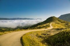 τοπίο misty Στοκ Φωτογραφία
