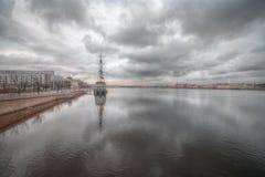 Τοπίο Nevsky, Αγία Πετρούπολη Στοκ Φωτογραφίες