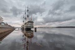 Τοπίο Nevsky, Αγία Πετρούπολη Στοκ εικόνες με δικαίωμα ελεύθερης χρήσης
