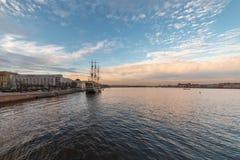 Τοπίο Nevsky, Αγία Πετρούπολη Στοκ φωτογραφία με δικαίωμα ελεύθερης χρήσης