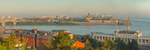 Τοπίο Nizhniy Novgorod Στοκ φωτογραφία με δικαίωμα ελεύθερης χρήσης