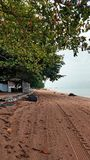 Τοπίο Pantai Pengkalan Balak Melaka στοκ εικόνα με δικαίωμα ελεύθερης χρήσης