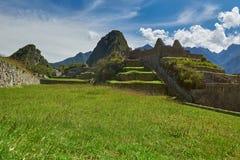 Τοπίο Picchu Machu Στοκ φωτογραφίες με δικαίωμα ελεύθερης χρήσης