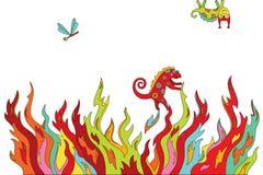 τοπίο psychedelic Στοκ εικόνες με δικαίωμα ελεύθερης χρήσης