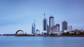 Τοπίο Qingdao στην Κίνα στοκ φωτογραφία
