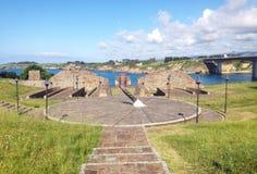 Τοπίο Ribadeo, Ισπανία Στοκ εικόνα με δικαίωμα ελεύθερης χρήσης