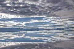 Τοπίο Salar de Uyuni, Βολιβία Στοκ φωτογραφία με δικαίωμα ελεύθερης χρήσης