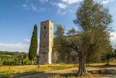 Sant'Antimo (Τοσκάνη) Στοκ Φωτογραφία