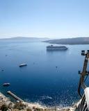 Τοπίο Santorini Στοκ Φωτογραφία