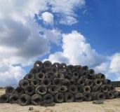 τοπίο scrapyard Στοκ εικόνα με δικαίωμα ελεύθερης χρήσης