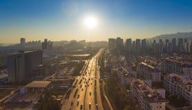 τοπίο shandong Κίνα huangdao στοκ εικόνες με δικαίωμα ελεύθερης χρήσης