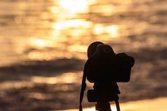 Τοπίο sunrises και sunsets φωτογράφος Στοκ Φωτογραφία