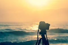 Τοπίο sunrises και sunsets φωτογράφος Στοκ φωτογραφίες με δικαίωμα ελεύθερης χρήσης