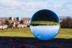 Τοπίο Swindon στη σφαίρα, άνω πλευρά - κάτω στοκ φωτογραφίες με δικαίωμα ελεύθερης χρήσης