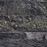 Τοπίο Terril Στοκ εικόνα με δικαίωμα ελεύθερης χρήσης