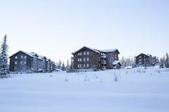 Τοπίο Trysil στο φως της ημέρας πρωινού Στοκ εικόνες με δικαίωμα ελεύθερης χρήσης