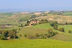 τοπίο tuscan χαρακτηριστικό Στοκ φωτογραφία με δικαίωμα ελεύθερης χρήσης