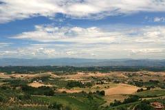 τοπίο tuscan Στοκ Φωτογραφίες