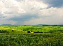 τοπίο tuscan Στοκ Εικόνες
